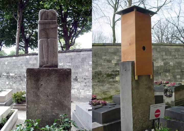 Dispută între statul francez şi moştenitorii unei rusoaice privind o operă majoră a lui Brâncuşi din cimitirul Montparnasse