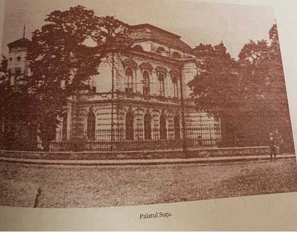 Palatul Șuțu și conviețuitorii săi