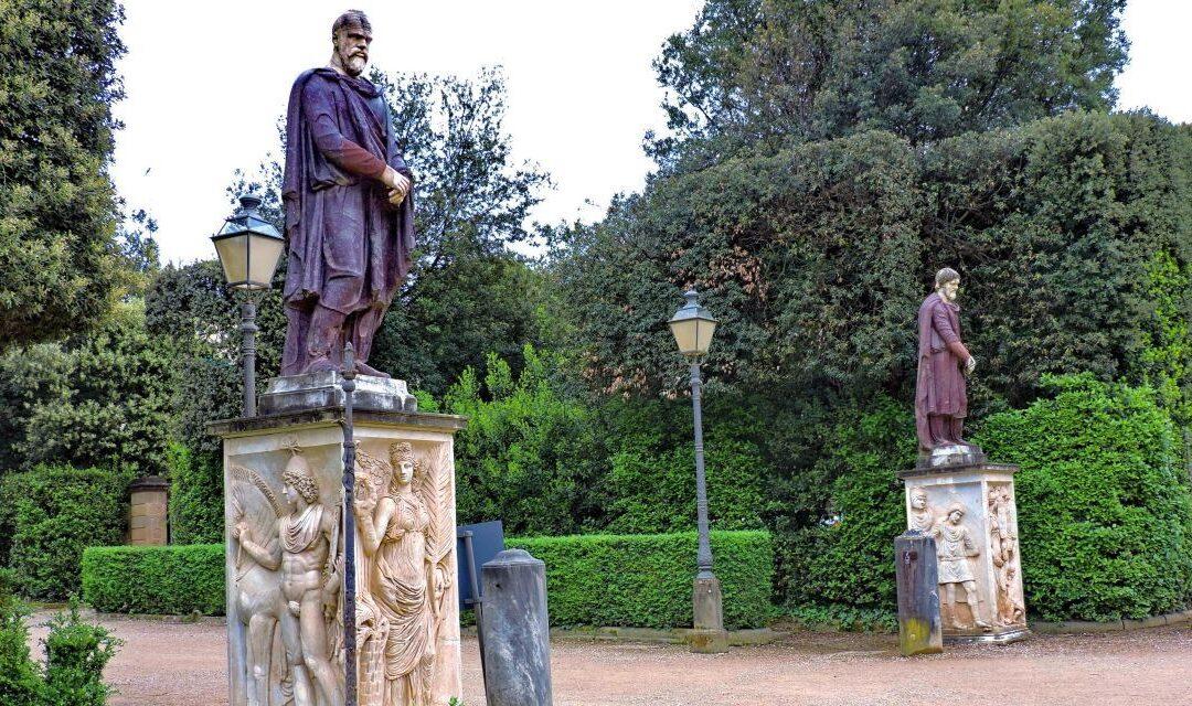 Copia statuii de nobil dac din Florența, dezvelită la Muzeul Național de Istorie a României