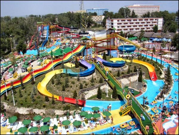 Harta celor mai importante locuri de distracţie din România