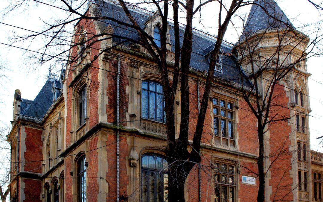Casa Ilie Niculescu-Dorobanțu, un castel de pe Valea Loarei în centrul Bucureștiului