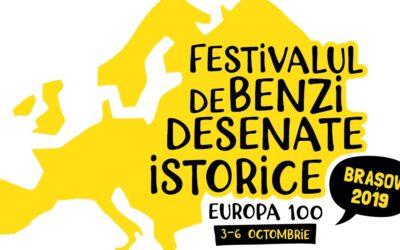 Festivalul de Benzi Desenate Istorice Brașov – o 100 de teme pentru a ilustra un secol de istorie al Europei