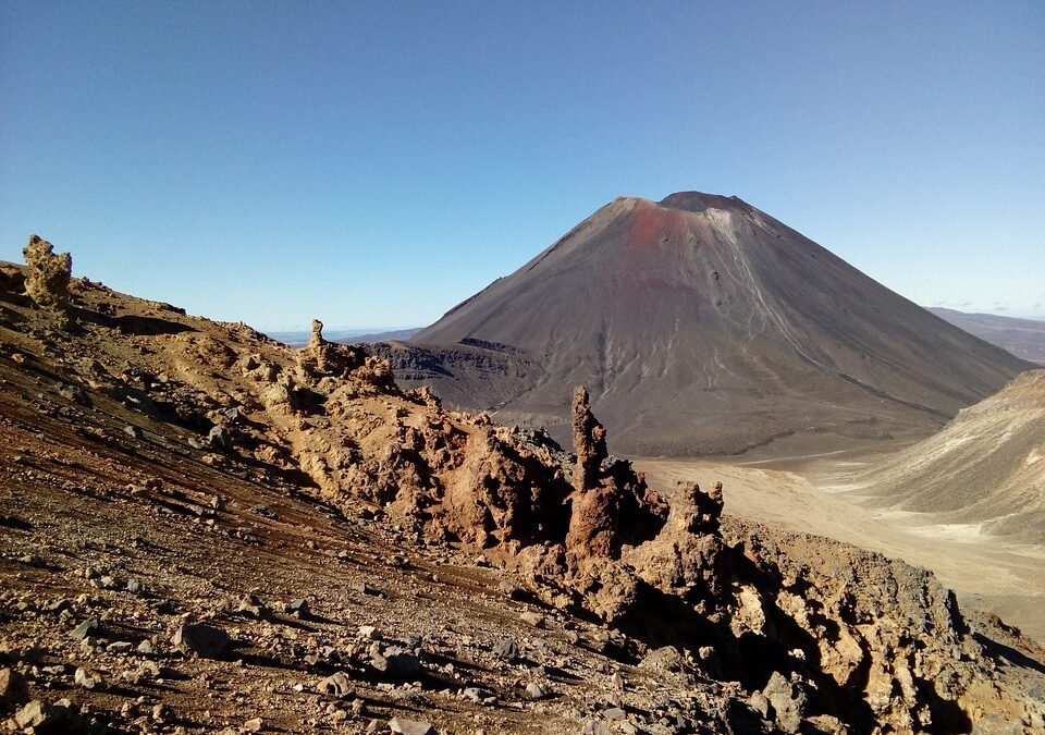 Traversarea Tongariro – locul unde s-au filmat scene din Lord of the Rings