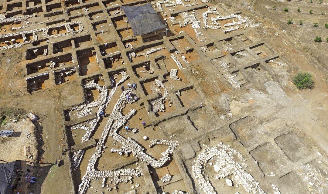 Vestigiile unui oraș construit acum 5.000 de ani, scoase la lumină în Israel