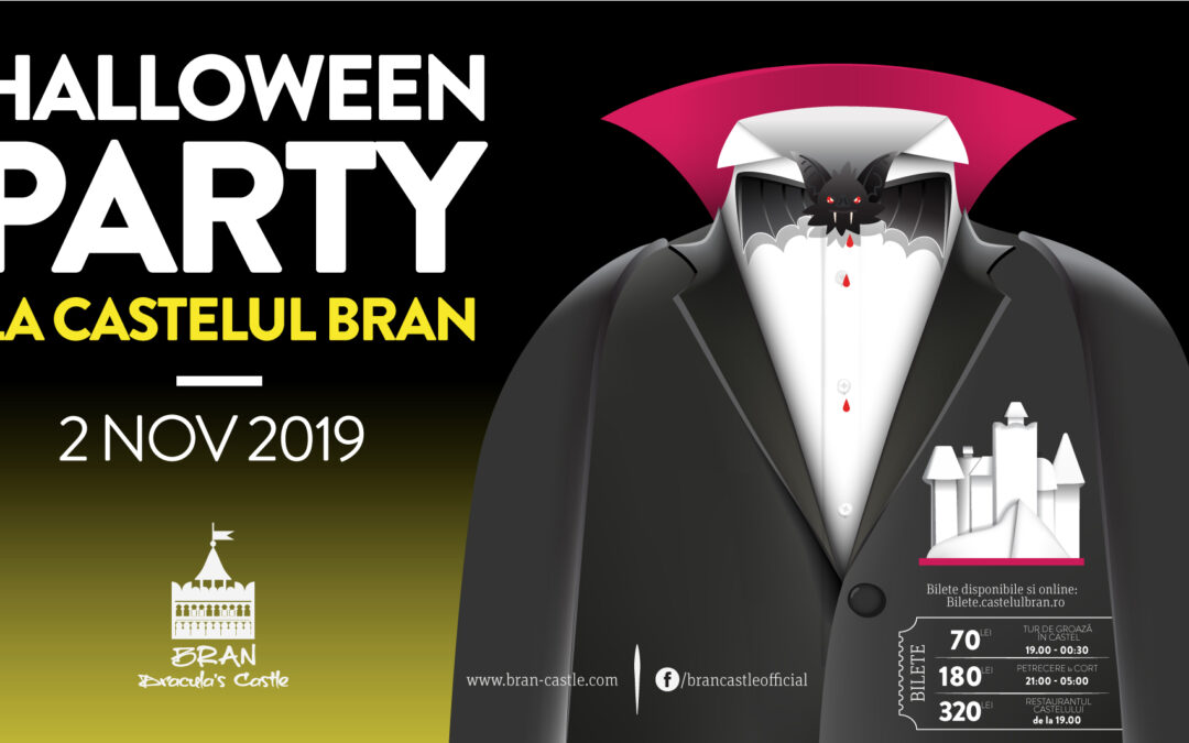 Halloween Party, la Castelul Bran