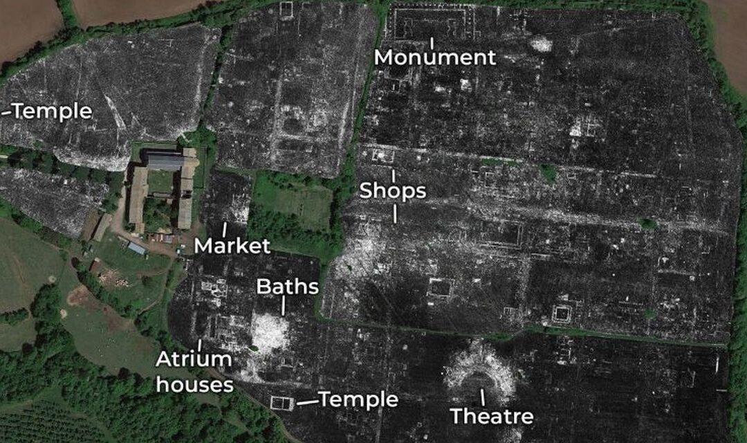 Ruinele unui oraș roman, dezvăluite cu ajutorul unei tehnologii revoluționare | VIDEO
