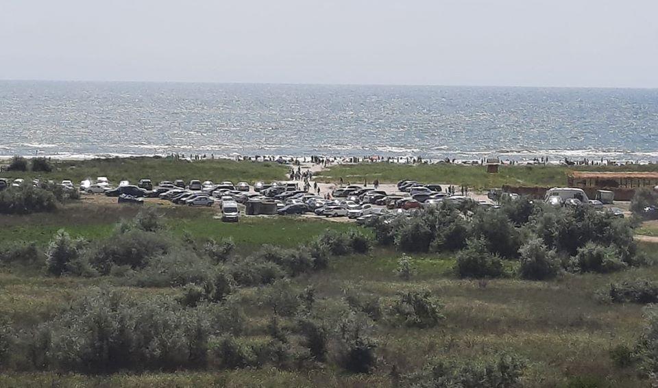 Dezastru pe plajele Vadu-Corbu în weekend-ul trecut