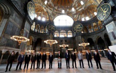 UNESCO cere Turciei un raport despre Sfânta Sofia fiind îngrijorată de starea ei după transformarea în moschee