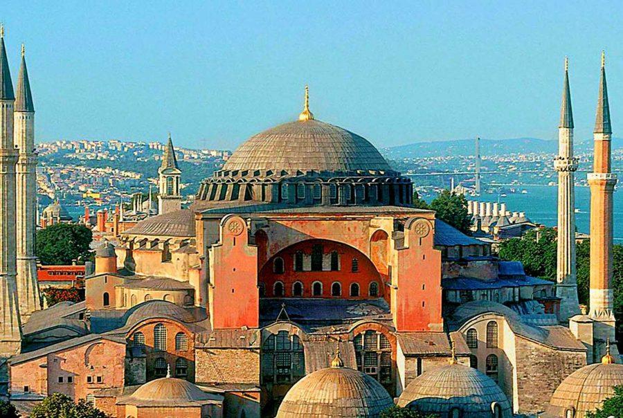 """UE a cerut Turciei să anuleze decizia de transformare în moschee a fostei Catedrale """"Sfânta Sofia"""""""