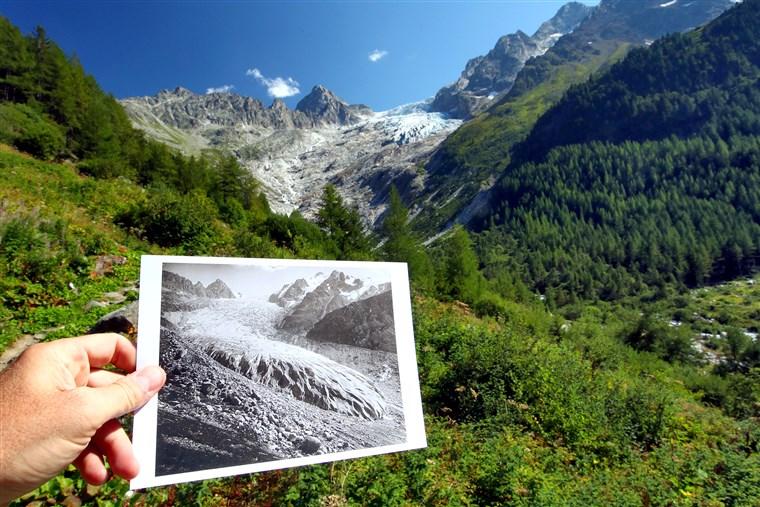 Ghețarii elvețieni continuă să se topească într-un ritm alert