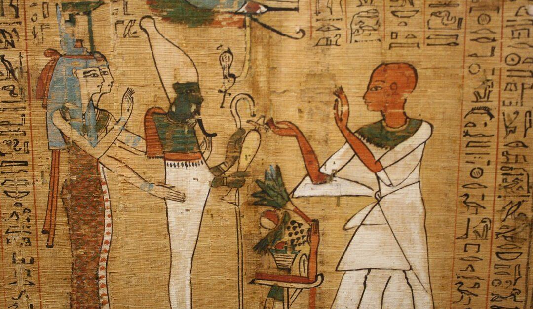 """Un manuscris vechi de 4.000 de ani, o introducere la """"Cartea morţilor"""", descoperit la sud de Cairo"""