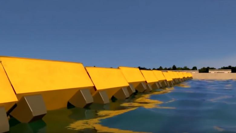 Sistemul MOSE, împotriva inundațiilor, activat pentru prima dată la Veneția
