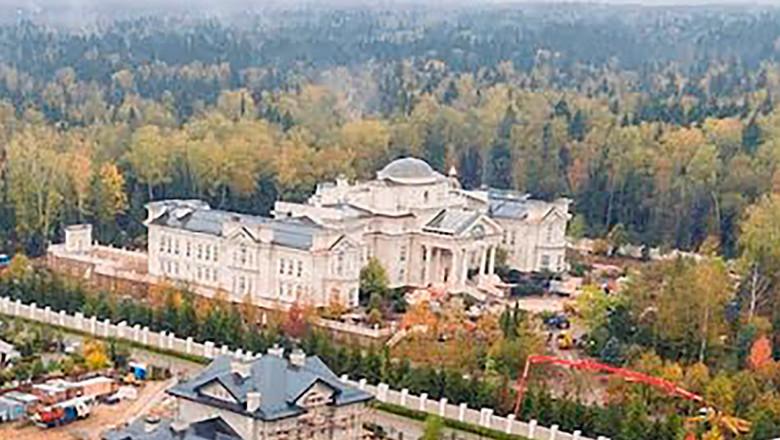 Palatul secret al lui Putin, de două ori mai mare decât Palatul Buckingham