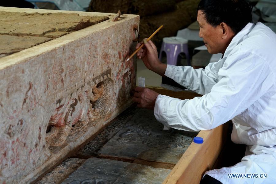 Mormânt vechi de 1.400 de ani, descoperit în China