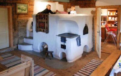 Cum funcţionează patul de pe sobă, ingenioasa metodă folosită de ţărani în trecut pentru a face faţă gerului