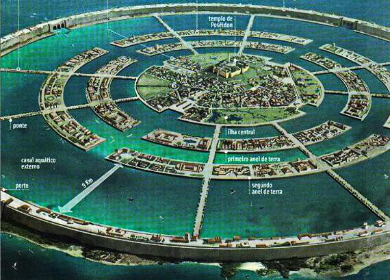 Unde este Atlantida?Un cercetător german susține că a rezolvat una dintre cele mai mari enigme
