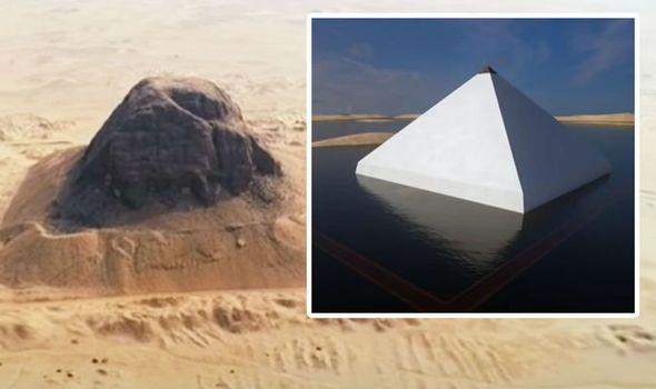 "Secretele piramidei ""plutitoare"" din Egipt"