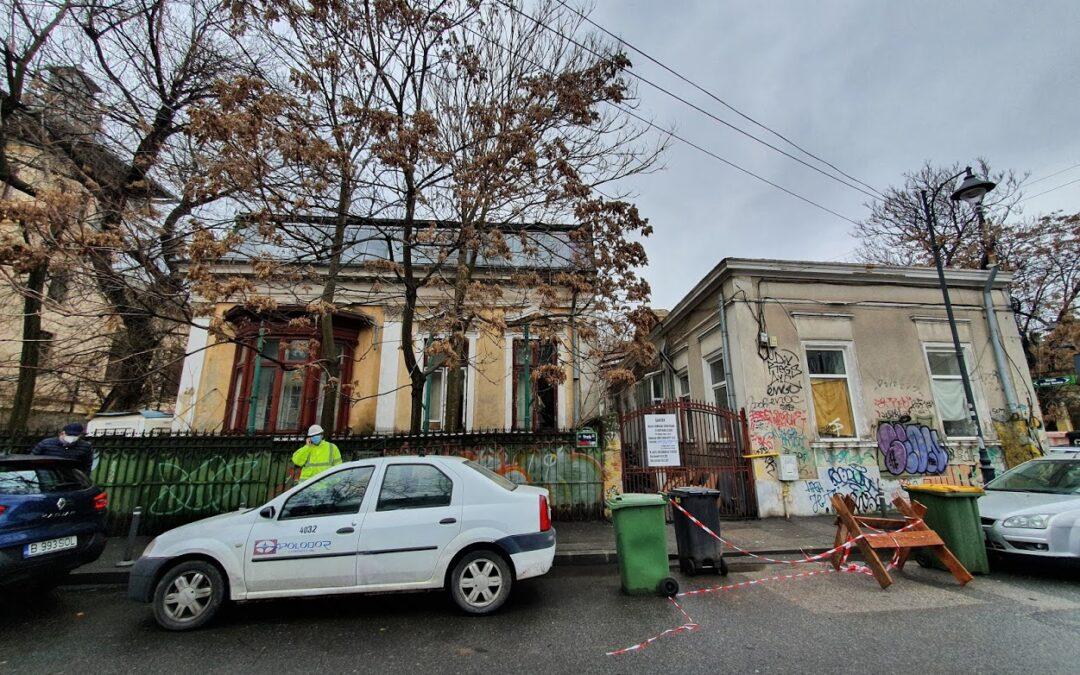 Administrația Firea a dat, înainte de alegeri, autorizație de demolare pentru două case vechi de peste o sută de ani, din inima Capitalei
