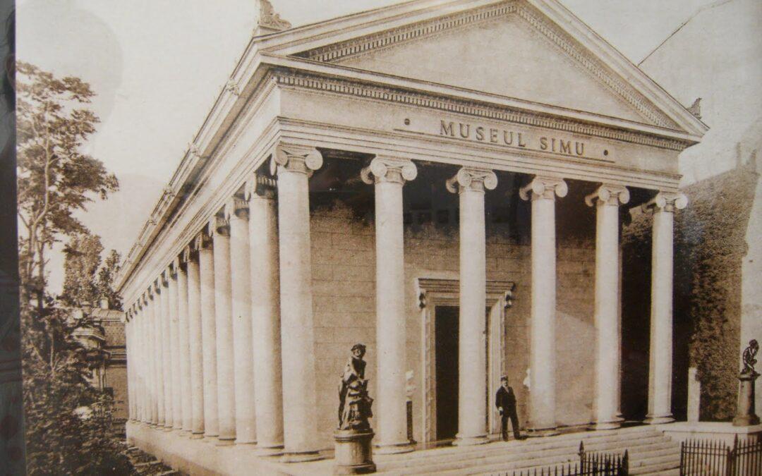 Povestea templu grecesc din inima Bucureștiului, cum a dispărit Muzeul Simu și ce au ridicat comuniștii acolo