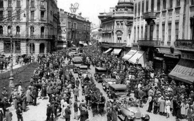 """The New York Times, în 1928, despre Calea Victoriei: Unde se înghesuiau bucureștenii și turiștii să """"dea check-in"""""""