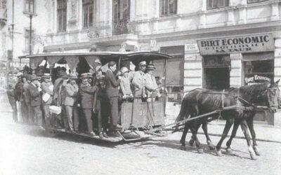 Când travaiele bucureștene erau trase de cai…
