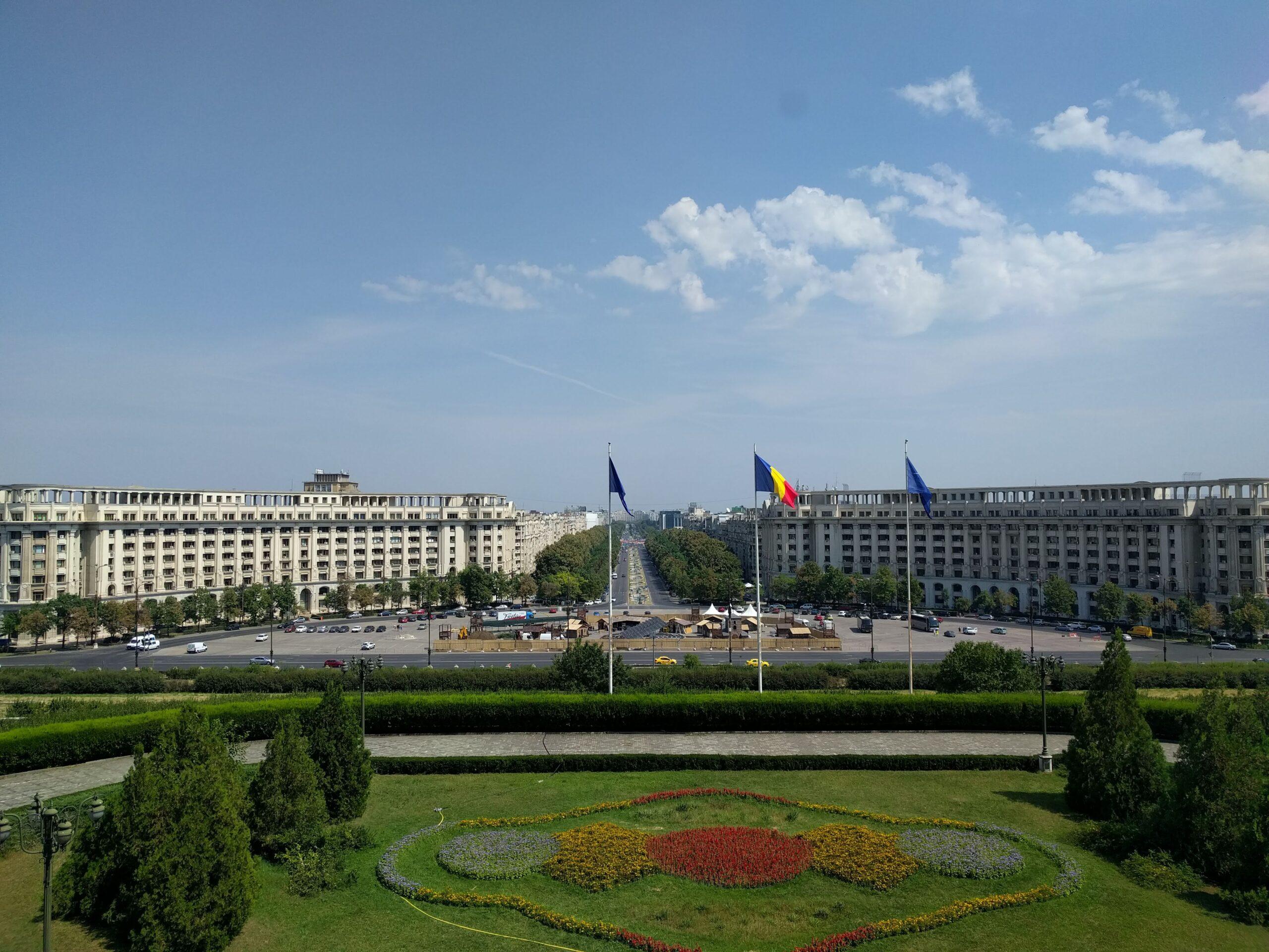 View Palatul Parlamentului