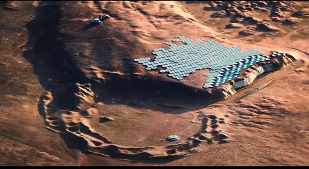 Cum arată Nüwa, oraşul proiectat să asigure viaţa pe Marte și care ar putea fi la un moment dat o destinație turistică