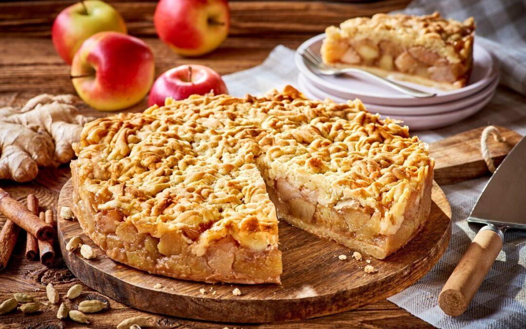 Szarlotka, plăcinta poloneză cu mere și povestea ei