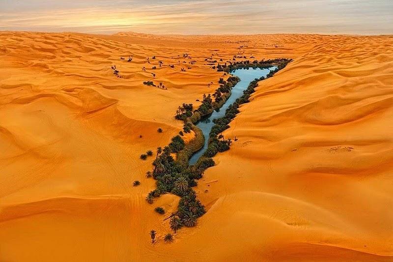 Povestea lacurilor din Sahara – au apa de cinci ori mai sărata ca marea