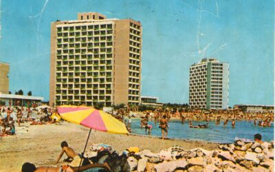 Cum arăta în 1973, litoralul Mării Negre, la începutul industriei de turism estival?