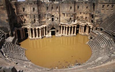 Anticele orașe siriene, monumente UNESCO – odinioară pline de turiști, azi adăpost pentru refugiații de război
