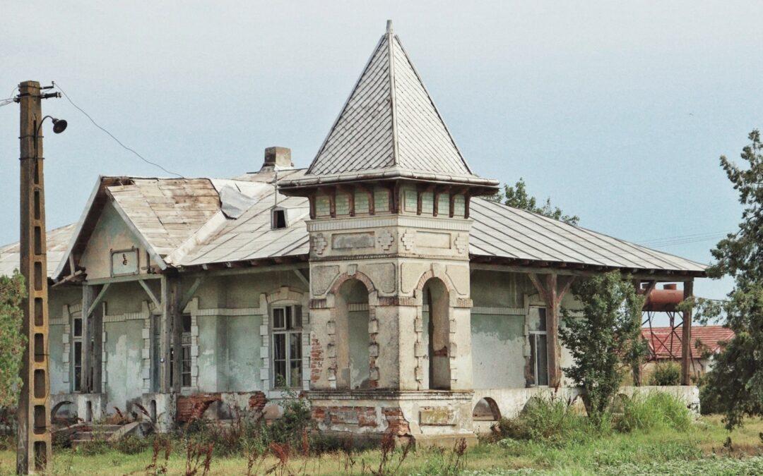 Conacul Alecu Constantinescu – o altă fărâmă de istorie lăsată de izbeliște