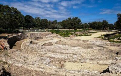 O bazilică romană ridicată de Irod, redescoperită în Israel