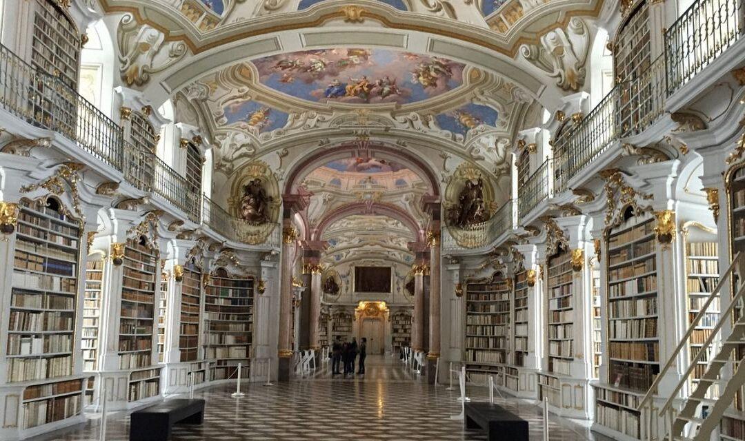 Tur virtual gratuit al uneia dintre cele mai renumite biblioteci monastice din lume