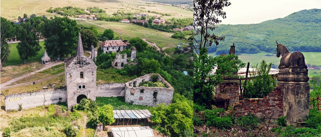 Castelul Kornis, înscris pe lista monumentelor istorice din Cluj