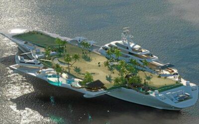 Un fost portavion francez ar putea fi transformat într-un hotel de lux