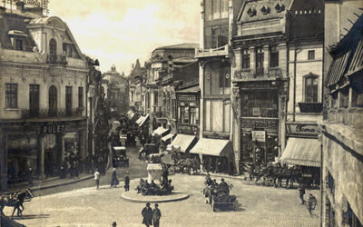 Strada Lipscani, inima Bucureștiilor de altădată