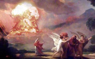 Dovezi că cetăţile biblice ale Sodomei şi Gomorei au fost spulberate de o minge de foc cosmică